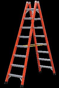 Art-Nr.: 365 Stehleiter mit GFK-Holmen