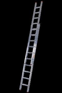 Art-Nr.: 111 Schiebe-Aufsteckleiter 2-teilig, POESCHCO, Leitern, Profileitern