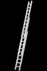 Art-Nr.: 112 Schiebe-Aufsteckleiter, 3-teilig, POESCHCO Profileitern