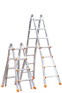 Art-Nr.: 132 Teleskopleiter, klappbar