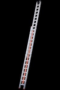 Art-Nr.: 143 Schiebeleiter mit Endlosseilzug, 2-teilig, POESCHCO Profileitern