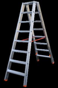 Art-Nr.: 315 Stehleiter Profi beidseitig