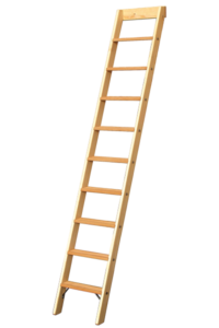 Art-Nr.: 675 Holz Stufenanlegeleiter