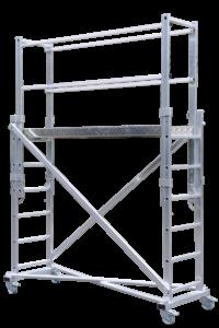 POESCHCO, Anstiege, Treppen, Podeste, Leitern, Profileitern