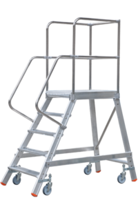 Art-Nr.: 260 Rollpodest, POESCHCO, Tools for Professionals, Treppen und Podeste,