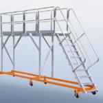 POESCHCO, Mobile Arbeitsbühnen, Sonderkonstruktionen, Lkw-Enteisungs-Bühne