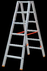 Aluminium Stehleiter expert beidseitig