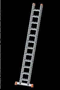 POESCHCO, Alu-Anlegeleiter, Profi-Leiter, Leitern, Ortsfeste Leiteranlage, Tankwagenleiter, Steigleiter, Anstieg, Treppe