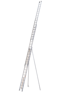 Art-Nr.: 114 Schiebeleiter mit Seilzug, 3-teilig, POESCHCO Profileitern