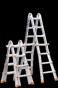 Teleskopleiter, klappbar, Treppe, Anstiege, Profi-Stufenleiter, Helicopter-Waretungsbühne, Anlegeleiter, Stufenleitern, Profi-Leiter, Arbeitsbühne, Ortsfeste Leiteranlage, POESCHCO, Laufsteganlage