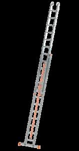 Art-Nr.: 143 Schiebeleiter mit Endlosseilzug, 2-teilig