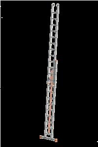 Schiebeleiter mit Endlosseilzug, POESCHCO, Poeschco-Leitern, Seilzugleiter, Anlegeleiter, Stehleiter, Profi-Leiter