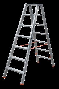 Stufenstehleiter Profi,Teleskopleiter, klappbar, Treppe, Anstiege, Profi-Stufenleiter, Helicopter-Wartungsbühne, Anlegeleiter, Stufenleitern, Profi-Leiter, Arbeitsbühne, Ortsfeste Leiteranlage, POESCHCO, Laufsteganlage