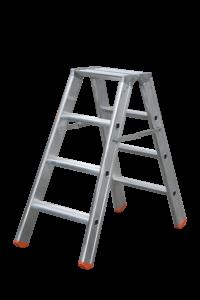 Tritt Profi beidseitig, Teleskopleiter, klappbar, Treppe, Anstiege, Profi-Stufenleiter, Helicopter-Wartungsbühne, Anlegeleiter, Stufenleitern, Profi-Leiter, Arbeitsbühne, Ortsfeste Leiteranlage, POESCHCO, Laufsteganlage