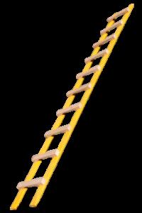 Dachauflegeleiter, Tapezierbock 3-sprossig, Tapezierbock 2-sprossig, Sprossenstehleiter, Holzleiter, Holzstufenleiter, Poeschco-Profileitern, Profi-Stufenleitern, Podestleiter, Anlegeleiter
