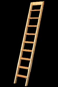 Stufenanlegeleiter, Dachauflegeleiter, Tapezierbock 3-sprossig, Tapezierbock 2-sprossig, Sprossenstehleiter, Holzleiter, Holzstufenleiter, Poeschco-Profileitern, Profi-Stufenleitern, Podestleiter, Anlegeleiter