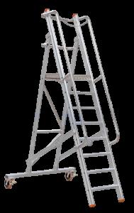 Art-Nr.: 256/257 Service Rollpodest, POESCHCO, Leitern, Profileitern