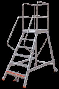 Rollbock, Rollpodest, Teleskopleiter,Steigleiter,Notleiter, Ortsfeste Leiteranlage, Kesselwagenleiter, Tankwagenleiter, Fahrgerüste