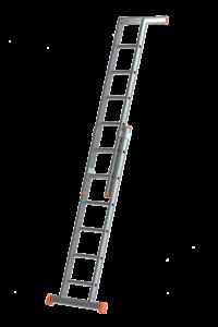 Plakatleiter 2-teilig, Schiebe-Aufsteckleiter 2-teilig, POESCHCO-Leitern, Glasreinigerleiter TRBS 2121-2, POESCHCO, Leitern, Profileitern, Podeste, Anstieg, Arbeitsbühne, Enteisungsbühne