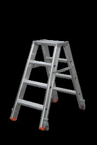 Tritt Profi beidseitig starr, Teleskopleiter klappbar, Treppe, Anstiege, Profi-Stufenleiter, Helicopter-Wartungsbühne, Anlegeleiter, Stufenleitern, Profi-Leiter, Arbeitsbühne, Ortsfeste Leiteranlage, POESCHCO, Laufsteganlage