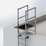 88554 - Überstieg Steigleiter Dach