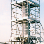 Sonderkonstruktionen, POESCHCO, Arbeits-Turm, Kontrolle- und Messeinrichtung