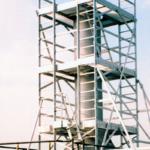 POESCHCO Sationäre Anlagen, Sonderkonstruktionen, Bayer-Turm