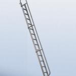 Edelstahl-Anlegeleiter