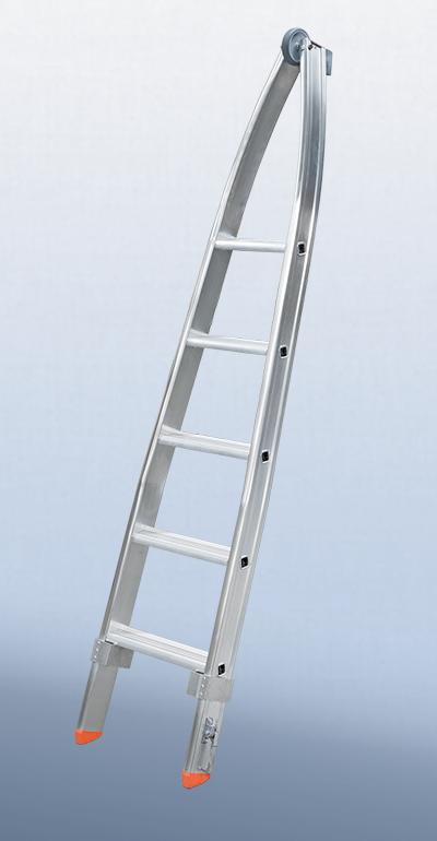 159-05 Stufen-Glasreinigerleiter Spitze Größe 5