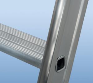 POESCHCO, Glasreinigerleiter TRBS-21-21-2, Glasreinigerleiter, Etagenleiter