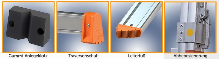 Glasreinigerleiter TRBS-21-21-2